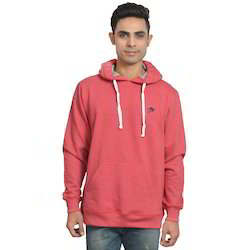 Red Cotton Stylish Hoody