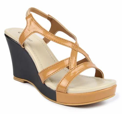 Party Wear Designer PVC Ladies Sandal