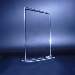 Double Sided Acrylic Menu Holder