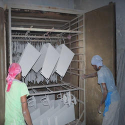 Canopy Powder Coating Service