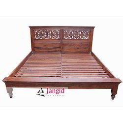 Jangid Art & Crafts Sheesham Wooden Bedroom Furniture