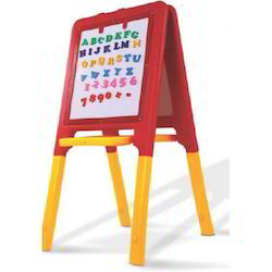 Arjun Toys And Furniture Mulitple 2 Way Easel Board, Size: 28 X 24 X 42 Inch