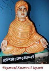 Marble Dayanand Saraswati Statue