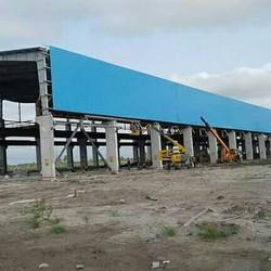 Concrete Frame Structures And Wood Framed Construction 100+ Profile Wall Cladding Sheet Installation.