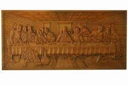 Brown Teak Wood Handicraft