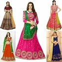 Wedding Wear Semi-stitched Lehanga Choli