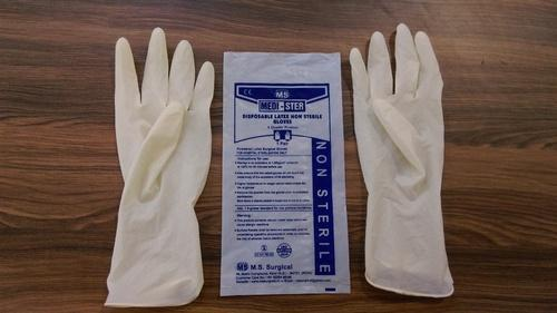 Non Sterile Surgical Gloves - Non Sterile Latex Surgical Gloves