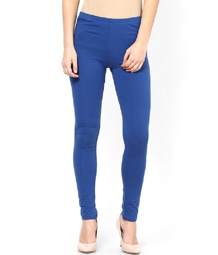 Blue Ankle Length Leggings