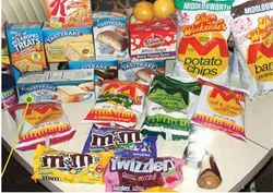 Confectionery And Biscuits