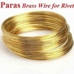 Brass Rivet Wire