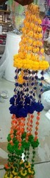 Multicolour Pompom String Hanging