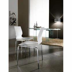Sedia Clarissa Bianca Designer Chair