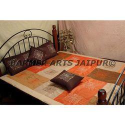 Silk Designer Bed Cover Chakra