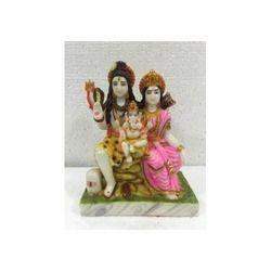 Shiv Parivar Marble God Idols