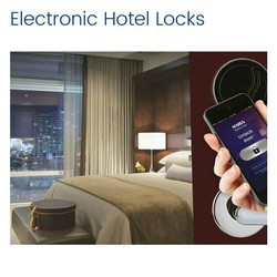 Dorma Stainelss Steel Electronic Hotel Locks, Brushed, 50 - 100 Pieces