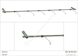 Frames & Sunglass Aluminium Non Lockable Display Rod