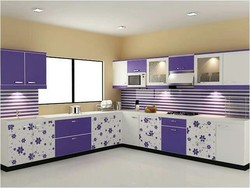 Full Height Modular Kitchen Shutter