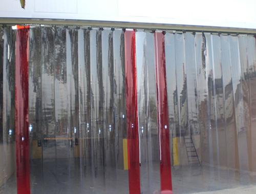 Industrial Pvc Strip Curtains at Rs 112 /square feet | Pvc Curtains ...