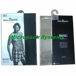 Plastic Undergarment Box