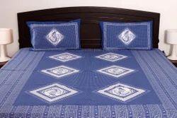 Cotton Jaipuri Double Bed Sheet