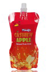 Cashew Fruit Juice, Packaging Type: Pouches