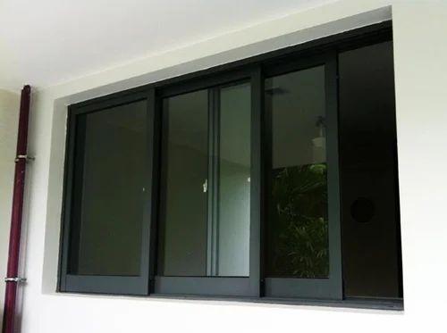Aluminium Stylish Sliding Windows Aluminium Domal Window