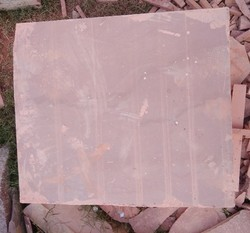 Tantpur Red Sandstone In Cutting Size, Packaging Type: Loose, Thickness: 25 mm