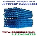 Cooling Tower PVC Blue Fills