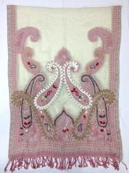 BOIL Woolen Embroidered Shawls