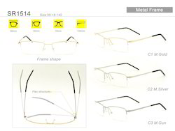 SR1514 Metal Designer Eyewear