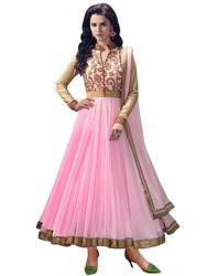 Net Anarkali Suit