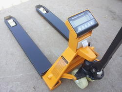 Pallet Scale With Printer
