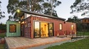 Wood Container House