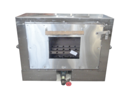 Gas Oven 6 Pizza Size: 32x14x28