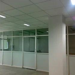 movable aluminium partitions aluminum office partitions