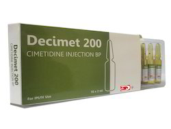 Cimetidine Injection Bp Decimet 200