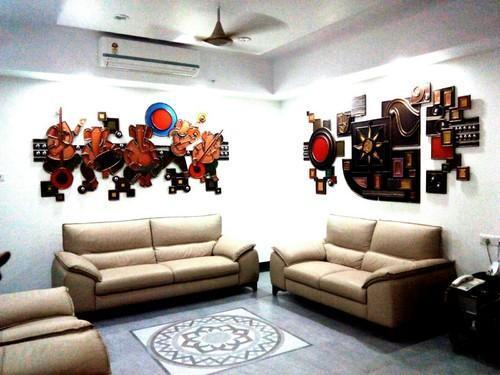 Modern Wall Mural Deewar Bhitti Chitra Mural Artist Richard