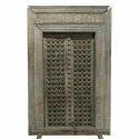 Antique Teak Designed Door