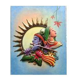 canvas painting iron krishna canvas painting from nagpur
