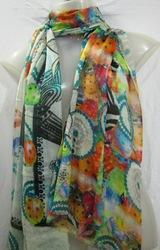Modal Digital Print Scarves