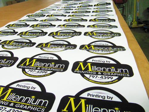 Promotional sticker printing services