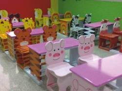 Kids Theme Desk And Chair (isf-134)