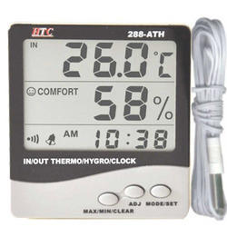 Thermo Hygrometer with Digital Clock