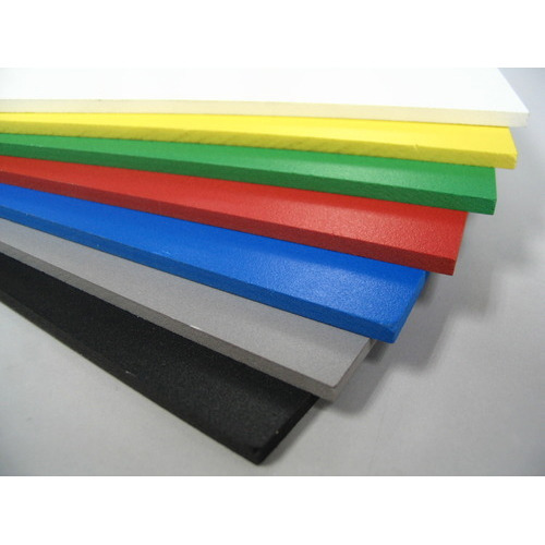 Multicolor HDPE Sheet, 1mm And 12 MM, Rs 135 /square meter ...