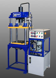 15 Ton Four Column Type Workshop Machine