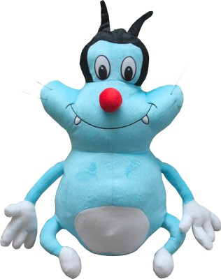 Oggy And Cockroaches Animated Cartoon Soft Toy Neha