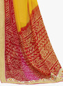 Yellow and Red Saree