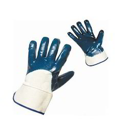 Nitrile Palm Coated Cuff Gloves