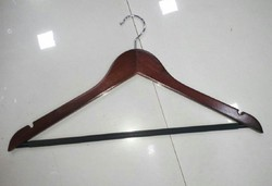 Wooden Hanger Cherry  Brown