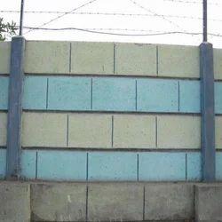 RCC Concrete Boundary Wall